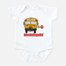 Safer school bus Infant Bodysuit