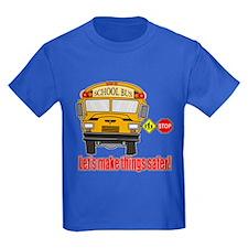Safer school bus T