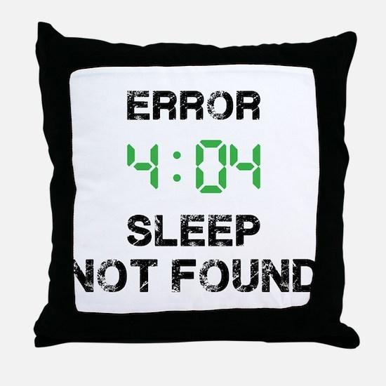 404 Throw Pillow