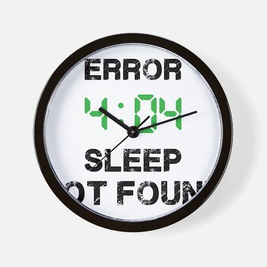 404 Wall Clock