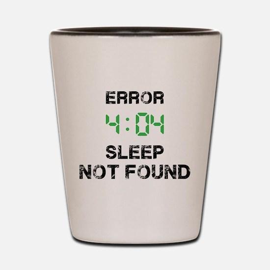 404 Shot Glass