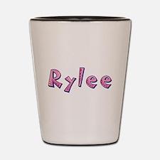 Rylee Pink Giraffe Shot Glass