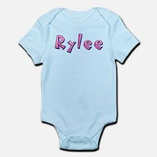 Rylee Pink Giraffe Body Suit