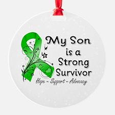 Son Strong Survivor Ornament