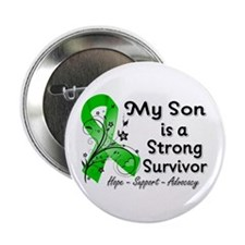 "Son Strong Survivor 2.25"" Button"