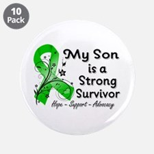 "Son Strong Survivor 3.5"" Button (10 pack)"