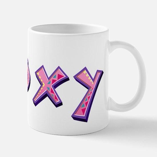 Roxy Pink Giraffe Mugs