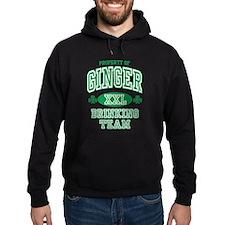 Ginger Drinking Team Irish Hoodie