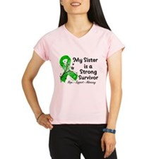 Sister Strong Survivor Performance Dry T-Shirt