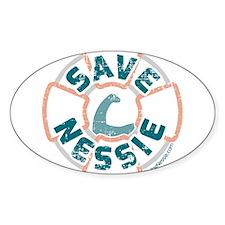 Save Nessie Stickers