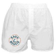 Save Nessie Boxer Shorts