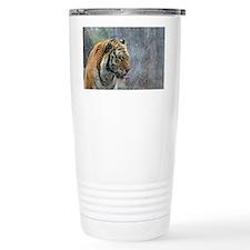 Tiger Tongue by Leslie  Travel Mug