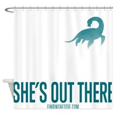 Loch Ness Monster - She's Out There Shower Curtain