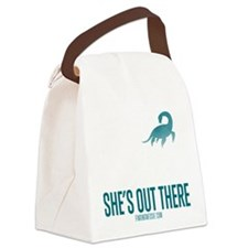 Loch Ness Monster - She's Out There Canvas Lunch B