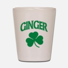 Ginger Shamrock Shot Glass