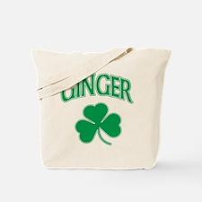 Ginger Shamrock Tote Bag