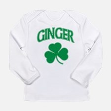 Ginger Shamrock Long Sleeve T-Shirt
