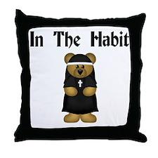 Nun's Throw Pillow