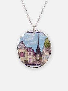 ParisCityscape70x54in Necklace