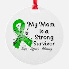 Mom Strong Survivor Ornament
