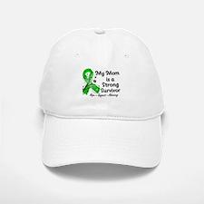 Mom Strong Survivor Baseball Baseball Cap