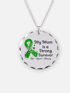 Mom Strong Survivor Necklace