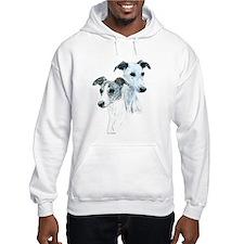 Whippet Pair Hoodie Sweatshirt