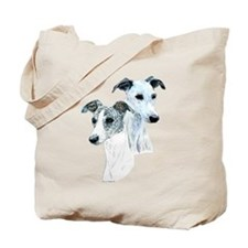 Whippet Pair Tote Bag