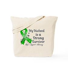 Husband Strong Survivor Tote Bag
