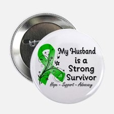 "Husband Strong Survivor 2.25"" Button"