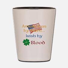 American By Birth Shot Glass