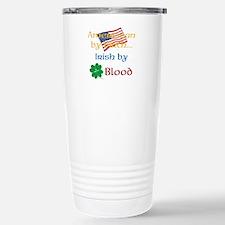 American By Birth Travel Mug