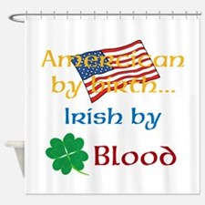 American By Birth Shower Curtain