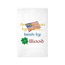 American By Birth 3'x5' Area Rug