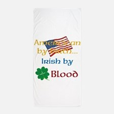 American By Birth Beach Towel