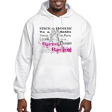 Barrel Racing T Hoodie Sweatshirt