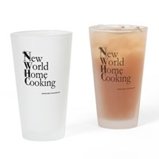 new world home cooking Drinking Glass