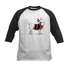 Bull Terrier Blue Baseball Jersey