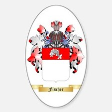 Fischer Sticker (Oval)