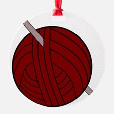 Yarn and Hook Ornament