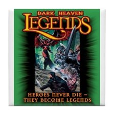 Dark Heaven Legends  Tile Coaster