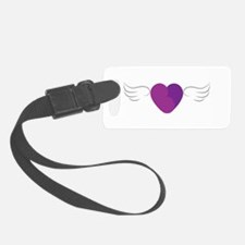 Kidneyheart With Wings Luggage Tag