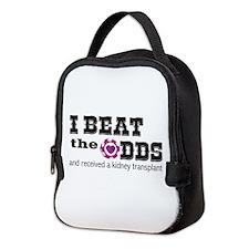 Beat The Odds Kidney Transplant Neoprene Lunch Bag