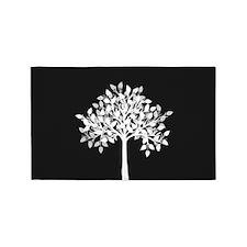 Tree Silhouette 3'X5' Area 3'X5' Area Rug