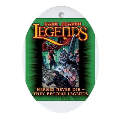 Dark Heaven Legends Oval Ornament
