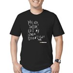 walking dead carl's Men's Fitted T-Shirt (dark)