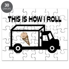 This Is How I Roll Ice Cream Truck Puzzle