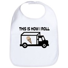 This Is How I Roll Ice Cream Truck Bib