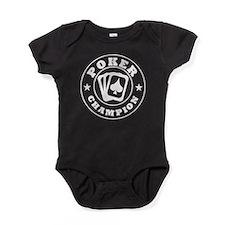 Poker Champion Baby Bodysuit