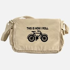 This Is How I Roll Bicycle Messenger Bag